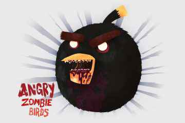 Angry zombie bird neozone - Telecharger angry birds gratuit ...