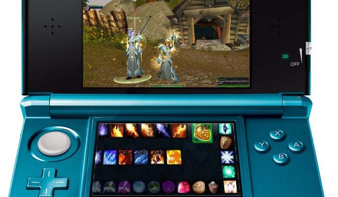 Un adapatation du jeu world of warcraft sur la nintendo 3ds neozone - World of warcraft sur console ...