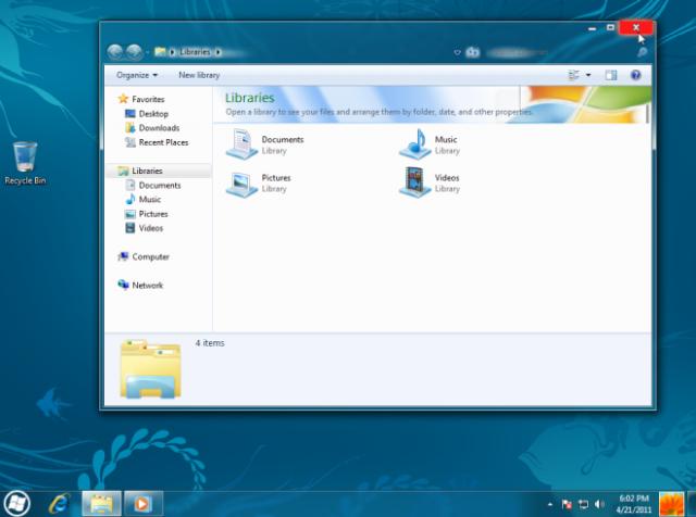 comment modifier windows 8 en windows 7