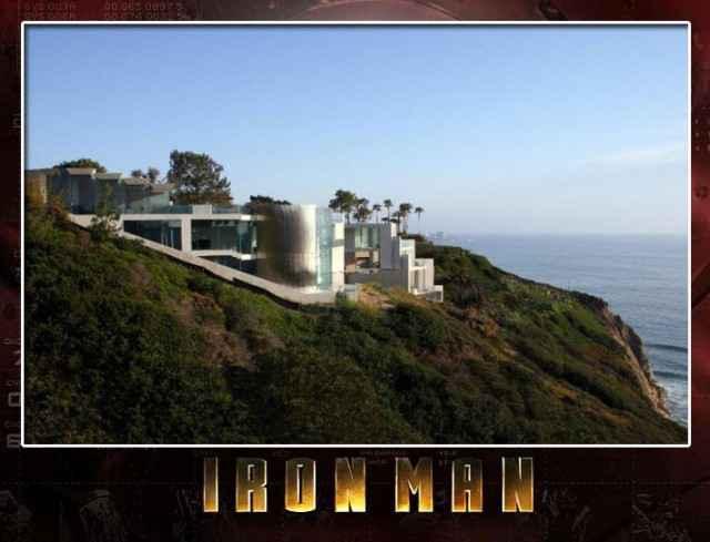 Immobilier le manoir de tony stark iron man est en for Iron man maison
