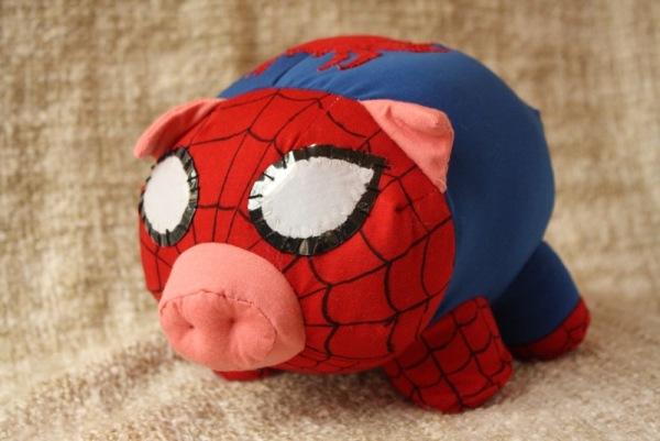 spider cochon il peut grimper au plafond neozone. Black Bedroom Furniture Sets. Home Design Ideas