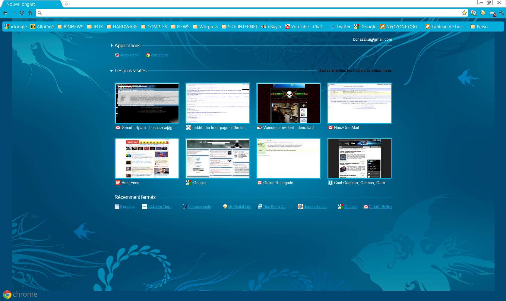 Google themes windows 8 - Un Th Me Windows 8 Pour Google Chrome