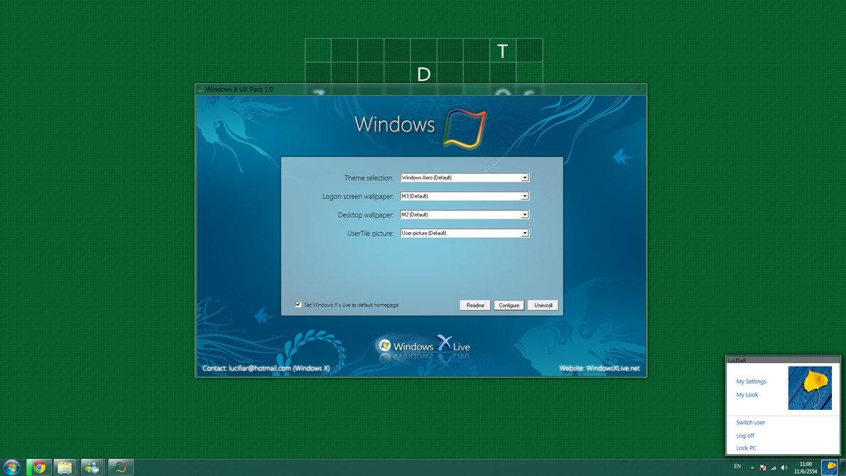 Windows 8 Ux Pack Un Nouveau Thème Pour Windows 7 Neozone