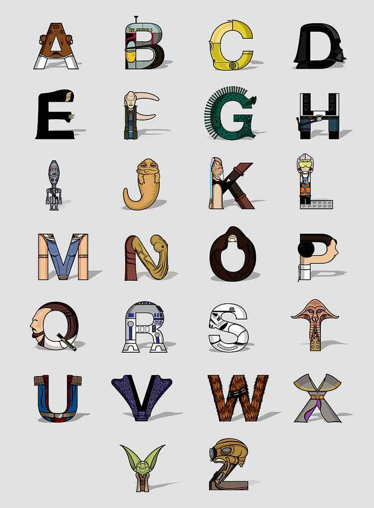 Un Alphabet Star Wars
