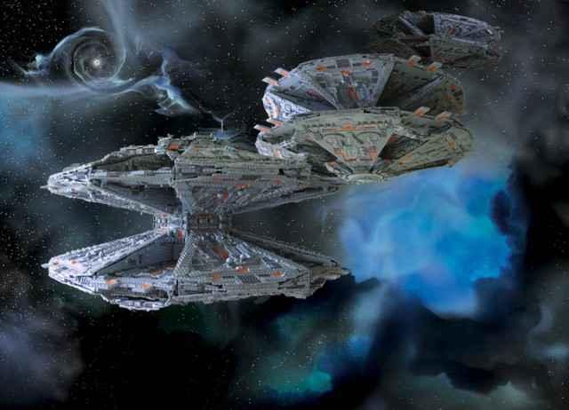 Battlestar Galactica | Une incroyable base Cylon en Lego