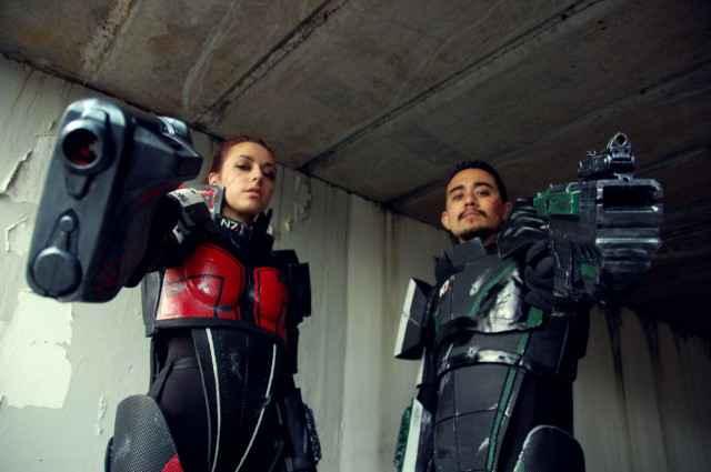 Deux déguisement, Cosplay du jeu Mass Effect deux