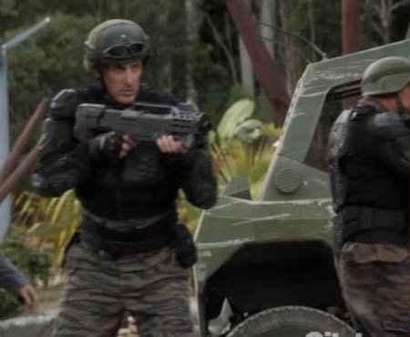 Le fusil en plastique de la série TV Terra Nova