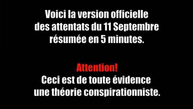 Un condensé du 11 septembre en vidéo