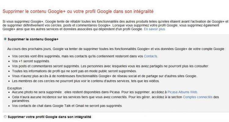 Comment Supprimer Un Compte Google Neozone