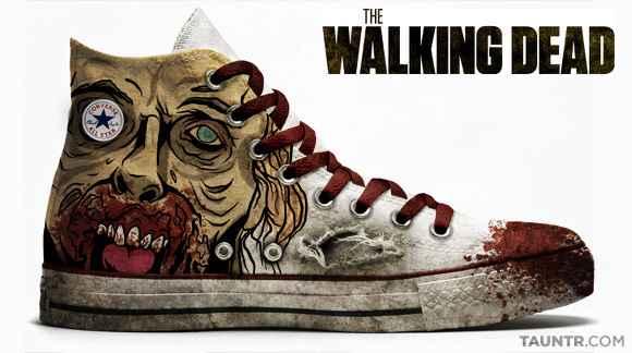 « Chuck Taylor Allstars  » Walking Dead