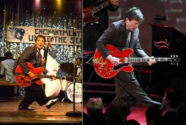 Michael J. Fox sur scène