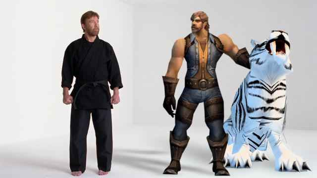 pub world of warcraft chuck norris hunter neozone. Black Bedroom Furniture Sets. Home Design Ideas