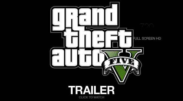 La première bande annonce officielle de GTA 5