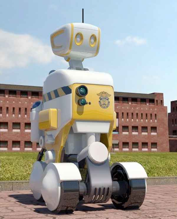 Des robots dans les prisons coréennes