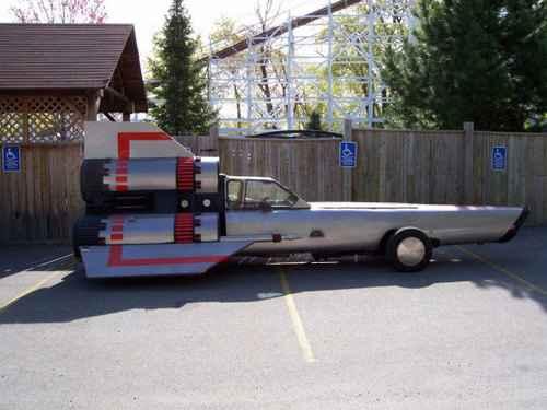 (Battlestar Galactica) Une voiture viper