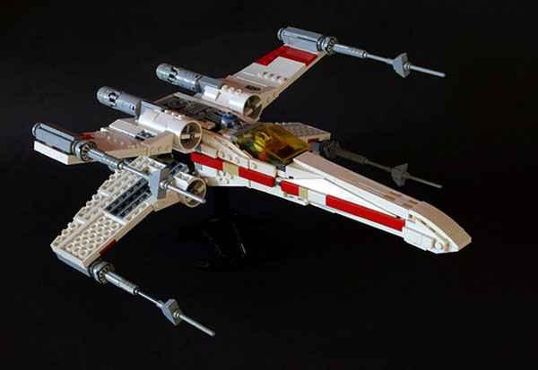 Un X-Wing en Lego
