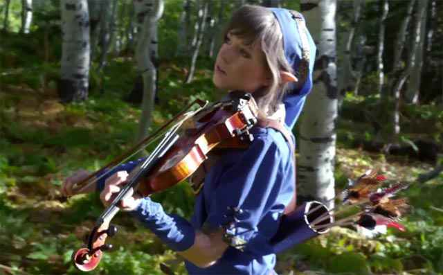 Le thème de Zelda au violon