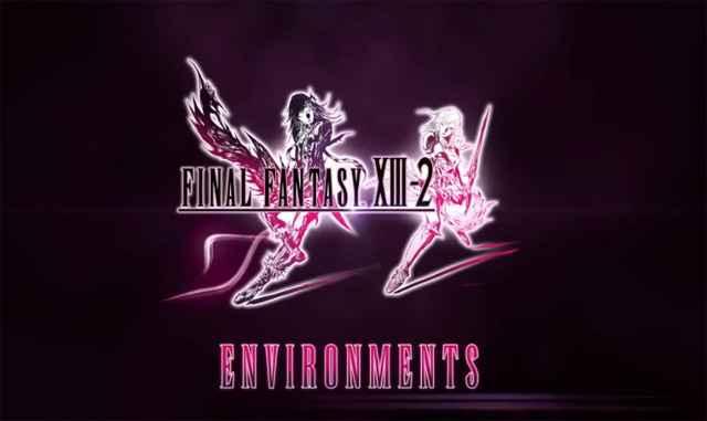 L'environnement dans Final Fantasy 13-2