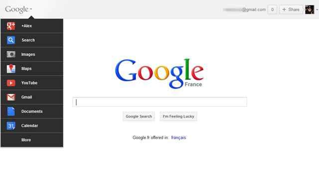 Comment activer la nouvelle barre de Google