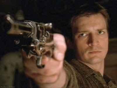 Une réplique du revolver du capitaine Malcolm Reynolds