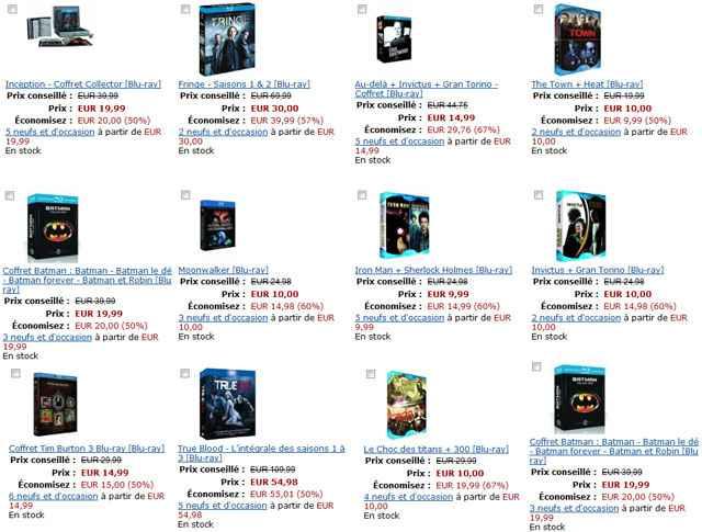 Idées cadeaux - 100 coffrets de Noël en DVD & Blu-ray à prix réduits