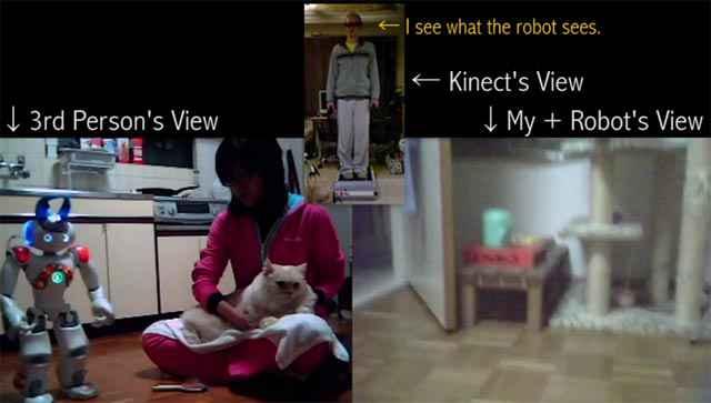 Lier son esprit à un Avatar robotisé avec Kinect
