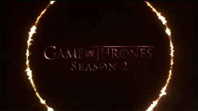 Game of Thrones saison 2 - La bande annonce