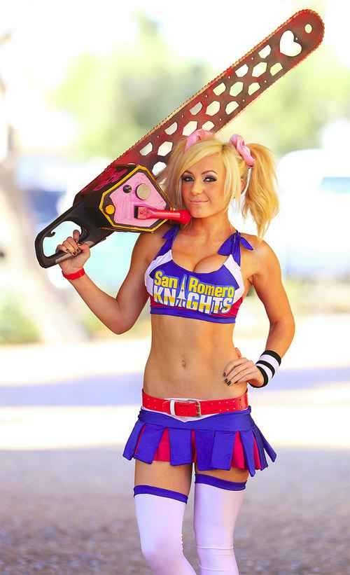Le cosplay de Juliet Starling de LolliPop Chainsaw