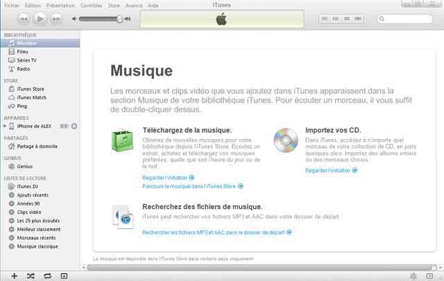 Comment désactiver l'ouverture automatique d'iTunes