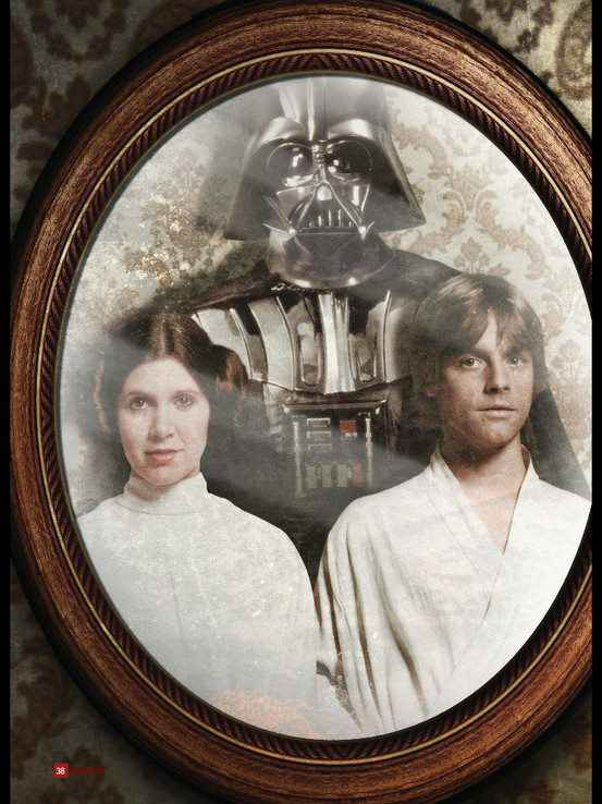 La photo de famille des Skywalker