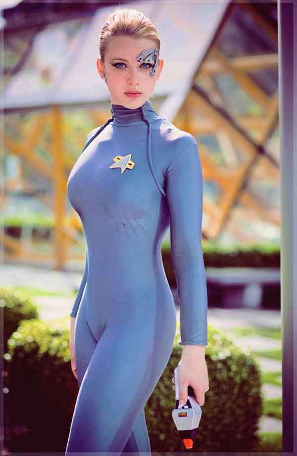 Un cosplay de Seven of nine