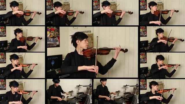 Une magnifique reprise de Skyrim jouée au violon