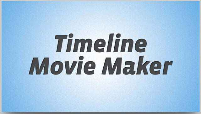 Timeline Movie Maker - Transforme la Timeline de ton profil Facebook en film