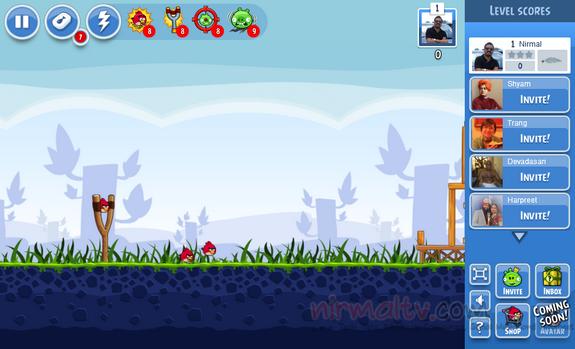 Angry Bird - Jouer gratuitement sur Facebook