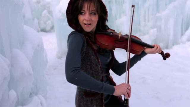 Lindsey Stirling - Dubstep Violin - Crystallize