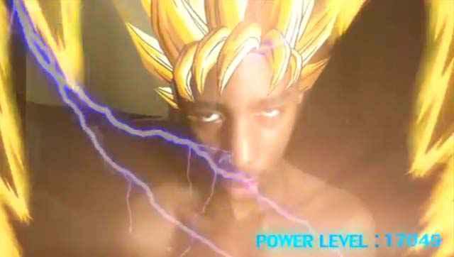 Il réussit à se transformer en Super Saiyan