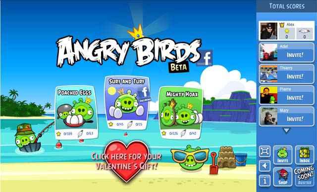 Angry Birds - Jouer gratuitement sur Facebook