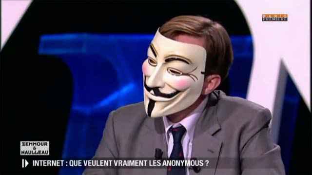 Zemmour et Naulleau invitent un Anonymous