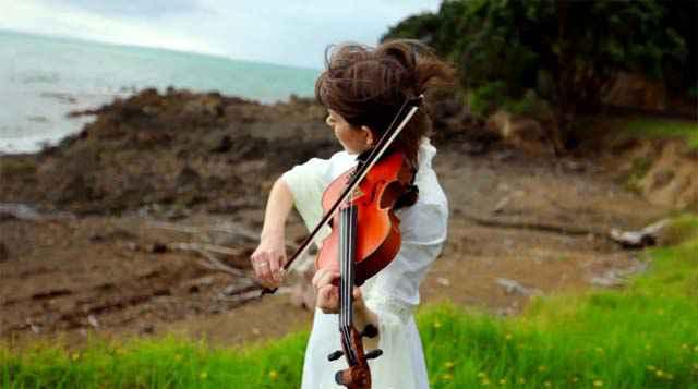 Une magnifique reprise du Seigneur des Anneaux au violon
