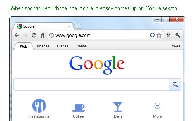 User-Agent Switcher pour Google Chrome | NeozOne
