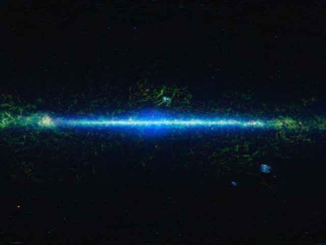 WISE - La NASA publie un atlas de l'ensemble du ciel