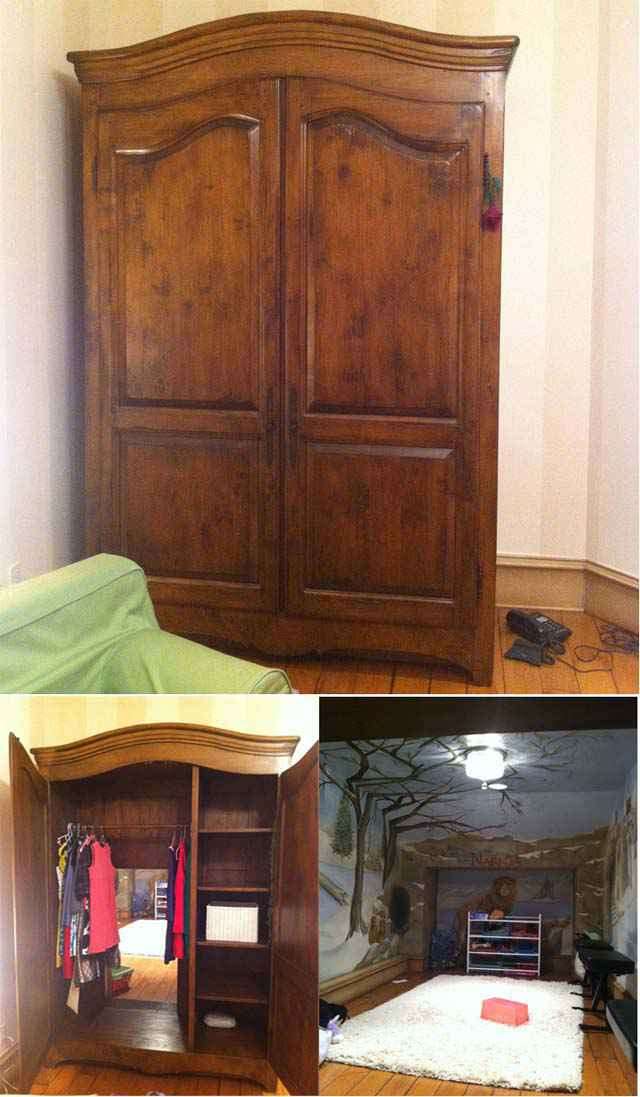 l 39 armoire magique de narnia existe vraiment neozone. Black Bedroom Furniture Sets. Home Design Ideas