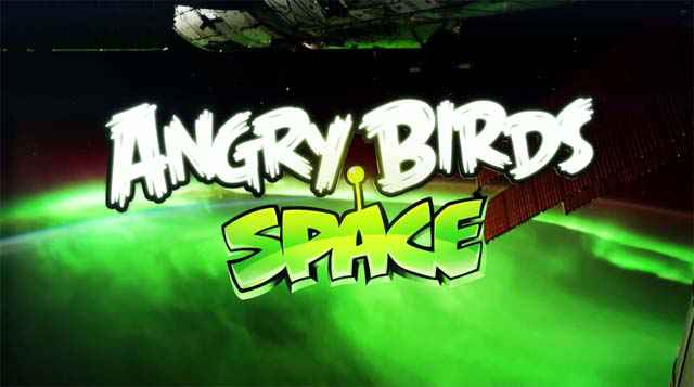 Angry Birds Space dans l'espace