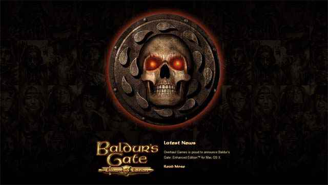 Baldur's Gate: Enhanced Edition sera également disponible sur Mac OS X