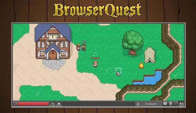 BrowserQuest - Un MMO Open Source dans ton navigateur