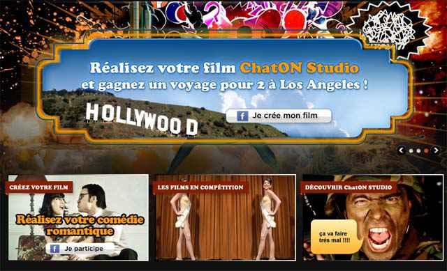Chaton Studio - Gagnez un voyage pour 2 à Hollywood et un Samsung Wave 3