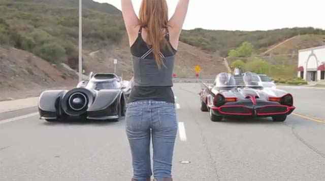 Course de Batmobiles