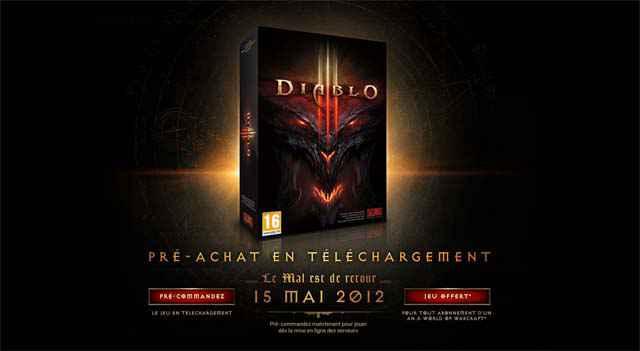 Diablo 3 (- 30%) - 42€ et livraison gratuite sur Amazon.fr