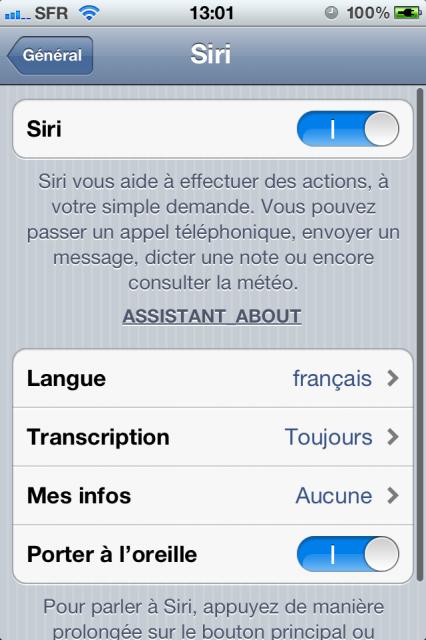 i4Siri - Comment installer Siri sur un iPhone ou un iPad d'ancienne génération