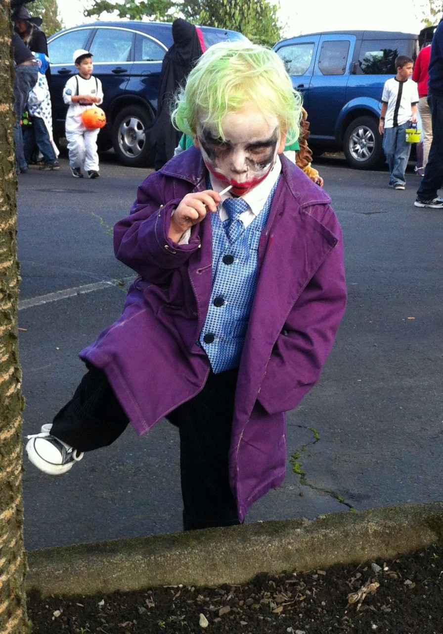 Cosplay - « Joker » junior